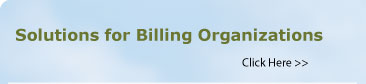 Solutions For Billing Organizations